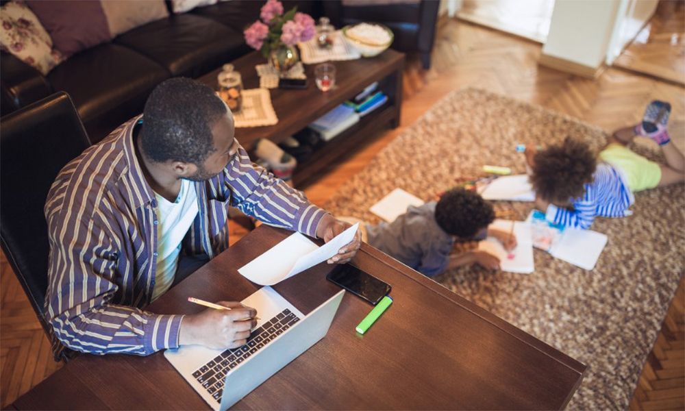 The best part of working from home? Work-life balance