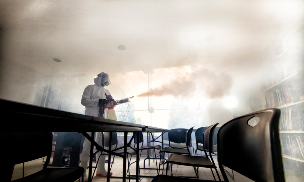 Workers want both clean and disinfected workplace