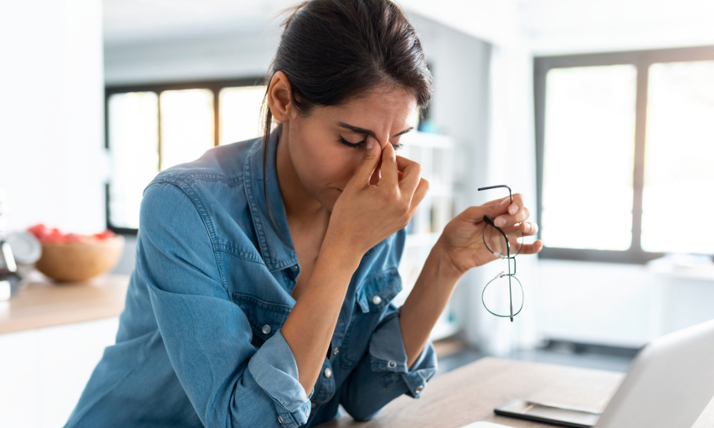 Many workers suffering from burnout