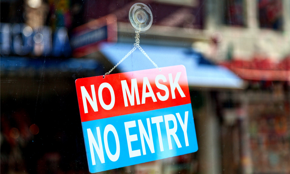 Is a mandatory mask a breach of human rights?