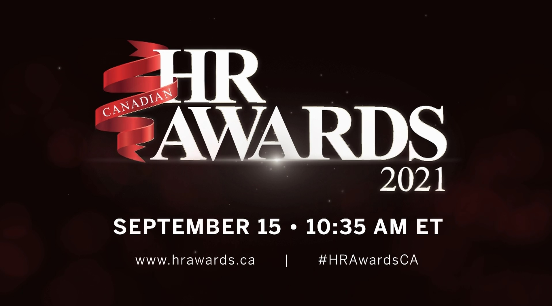 What to expect at the virtual Canadian HR Awards 2021