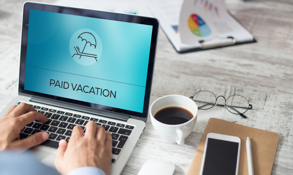 Employer changes to approved vacation
