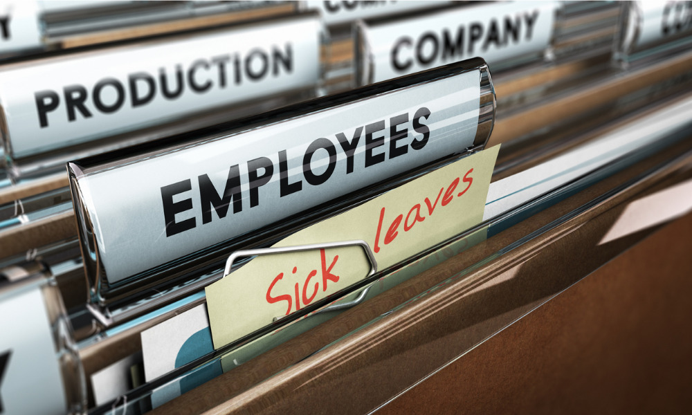 Termination of employee on medical leave