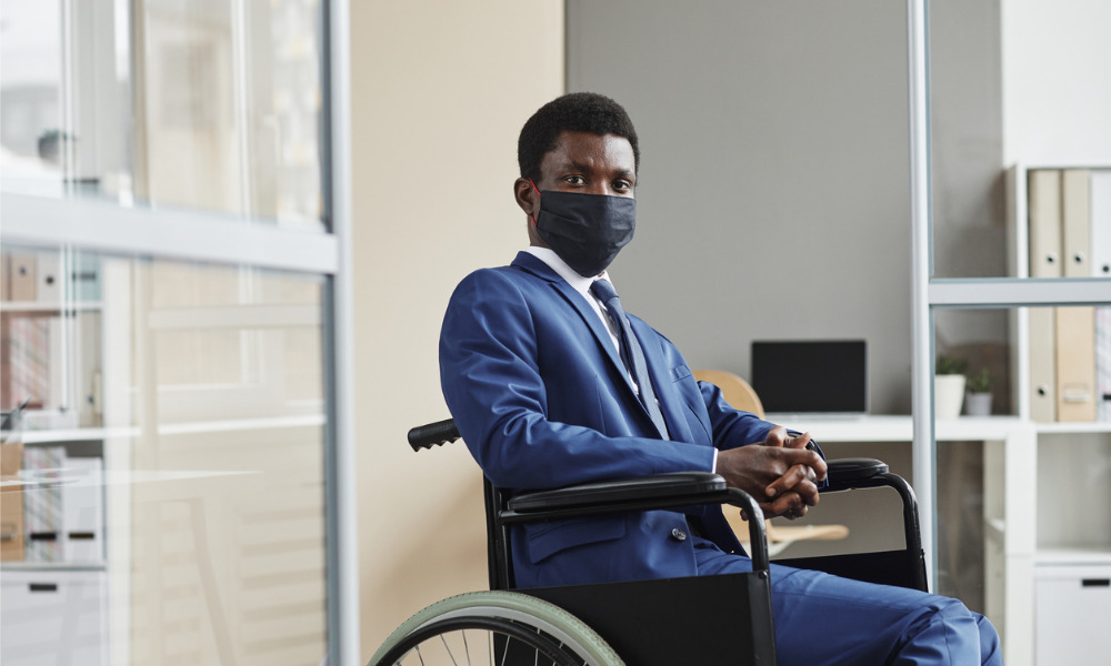 Lack of support at work makes COVID worse for people with disabilities
