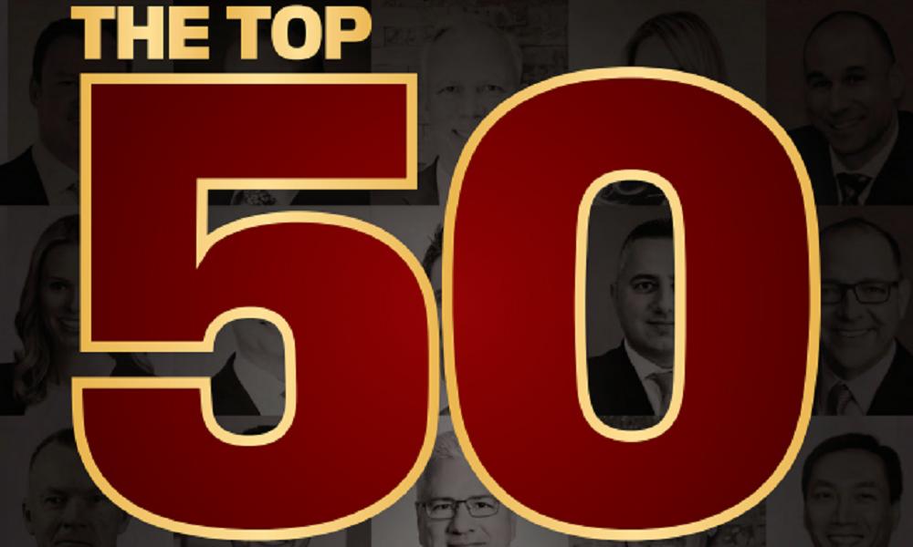 Revealed: Top 50 Advisors 2020