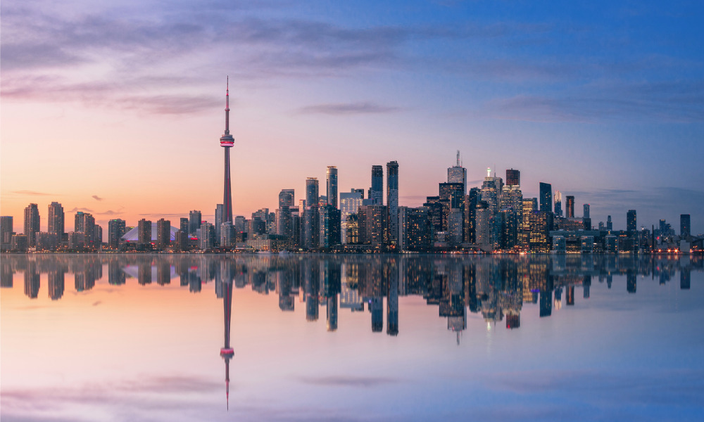How important are financial services to the Toronto economy?