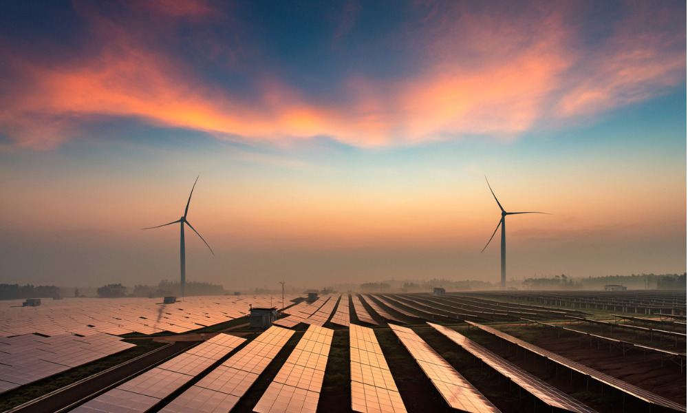 How crisis threatens clean-energy investments