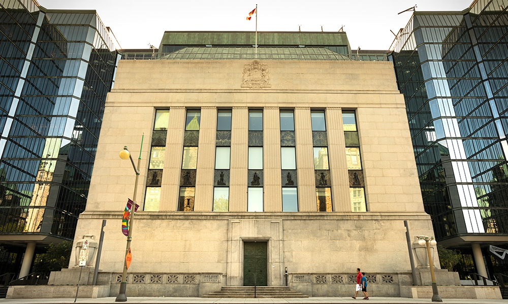 BoC should keep rate at 0.25% for 'at least the next year'