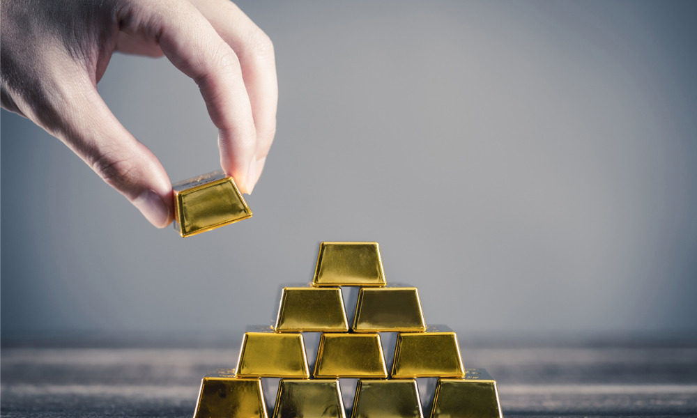 Why not start with 100% gold in your portfolio?