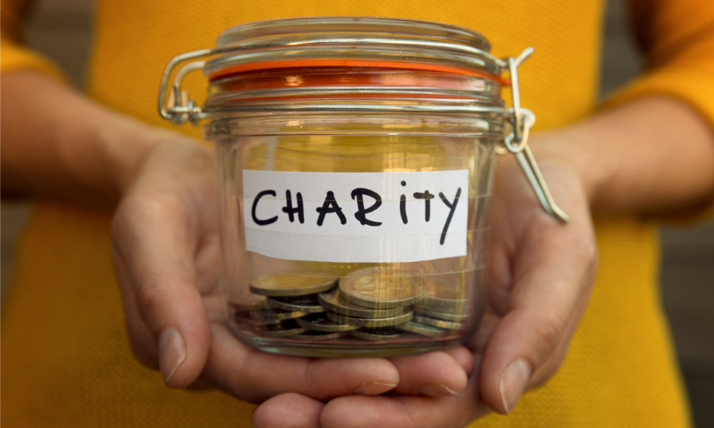 Should donors not ask charities how their money was spent?