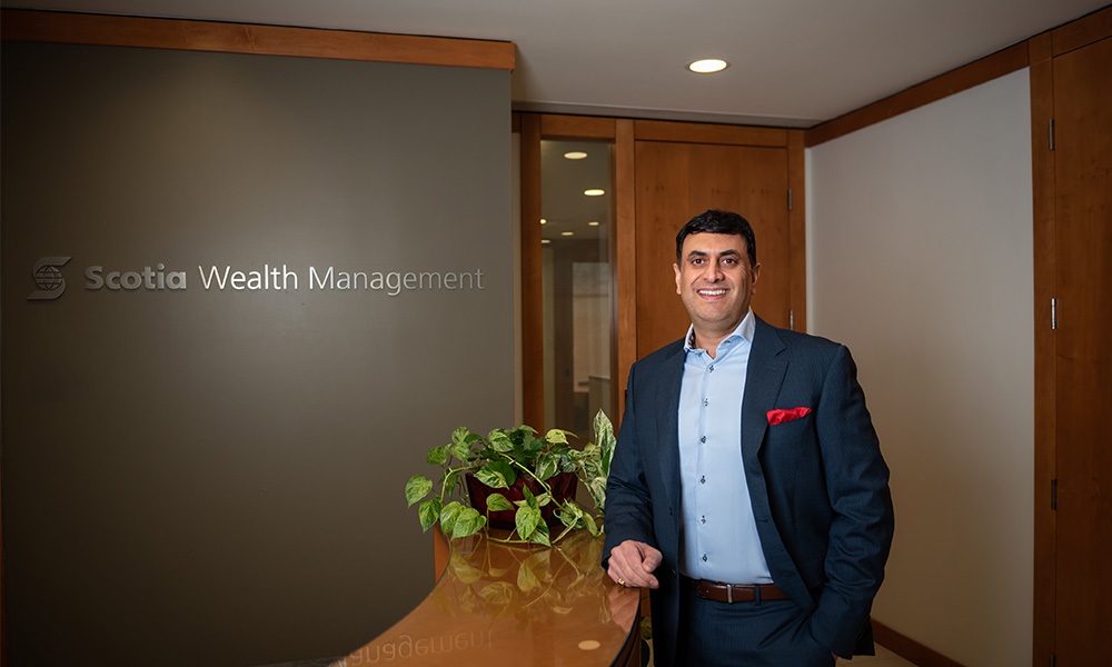 'Being able to provide counsel on managing wealth is an honour'