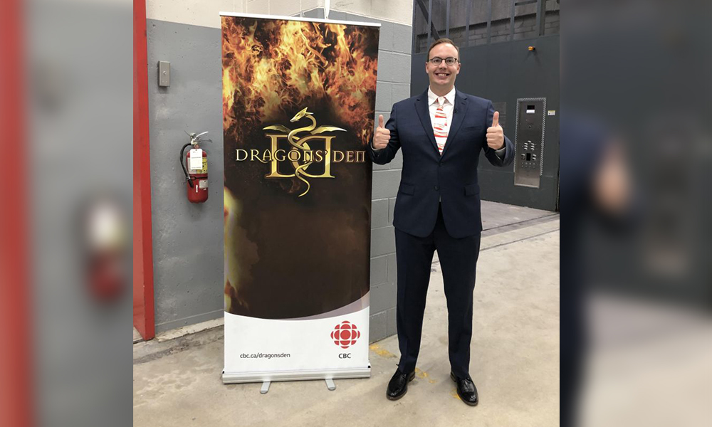 Investor app CEO braves the Dragons' Den