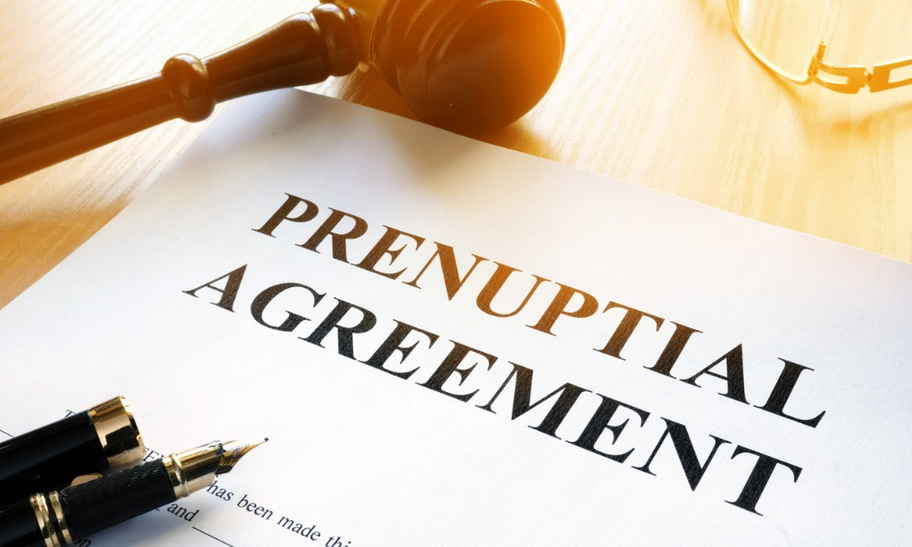 There are better ways to discuss prenups, marriage contracts