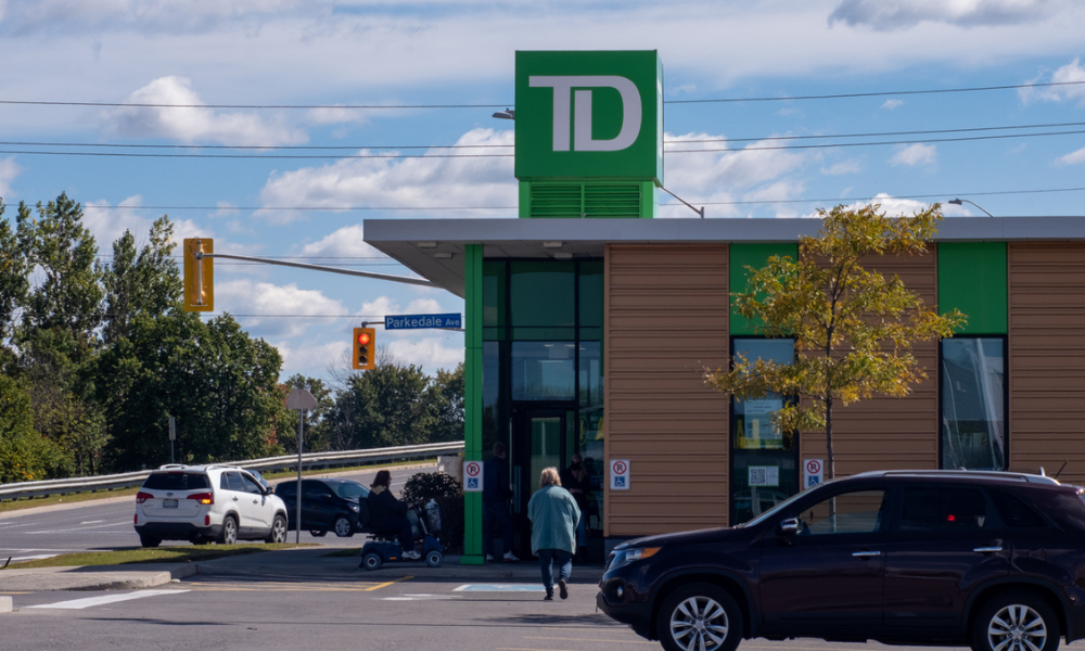 TD teams with Canada Post to offer financial services in branches