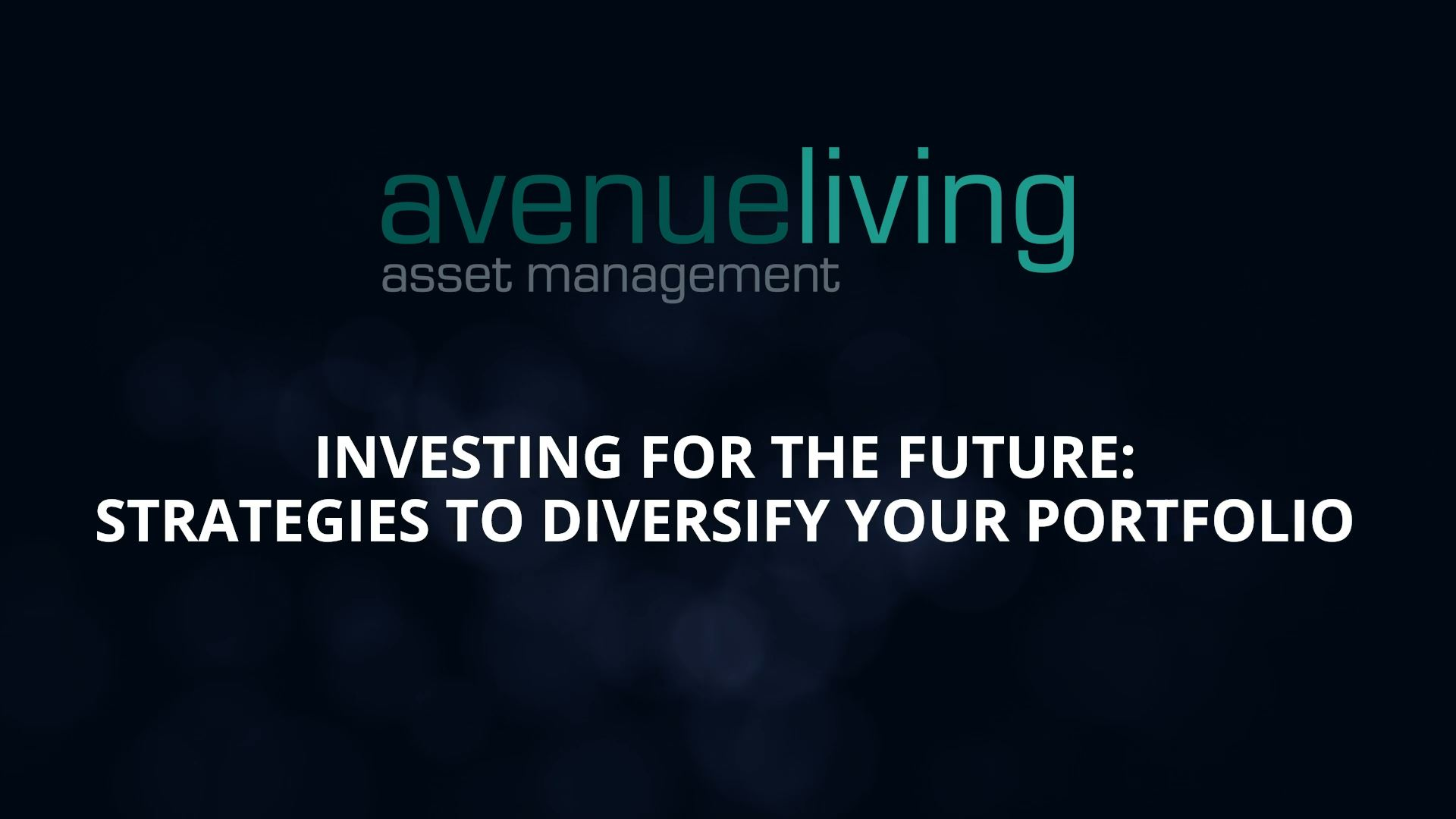 Investing for the future: Strategies to diversify your portfolio