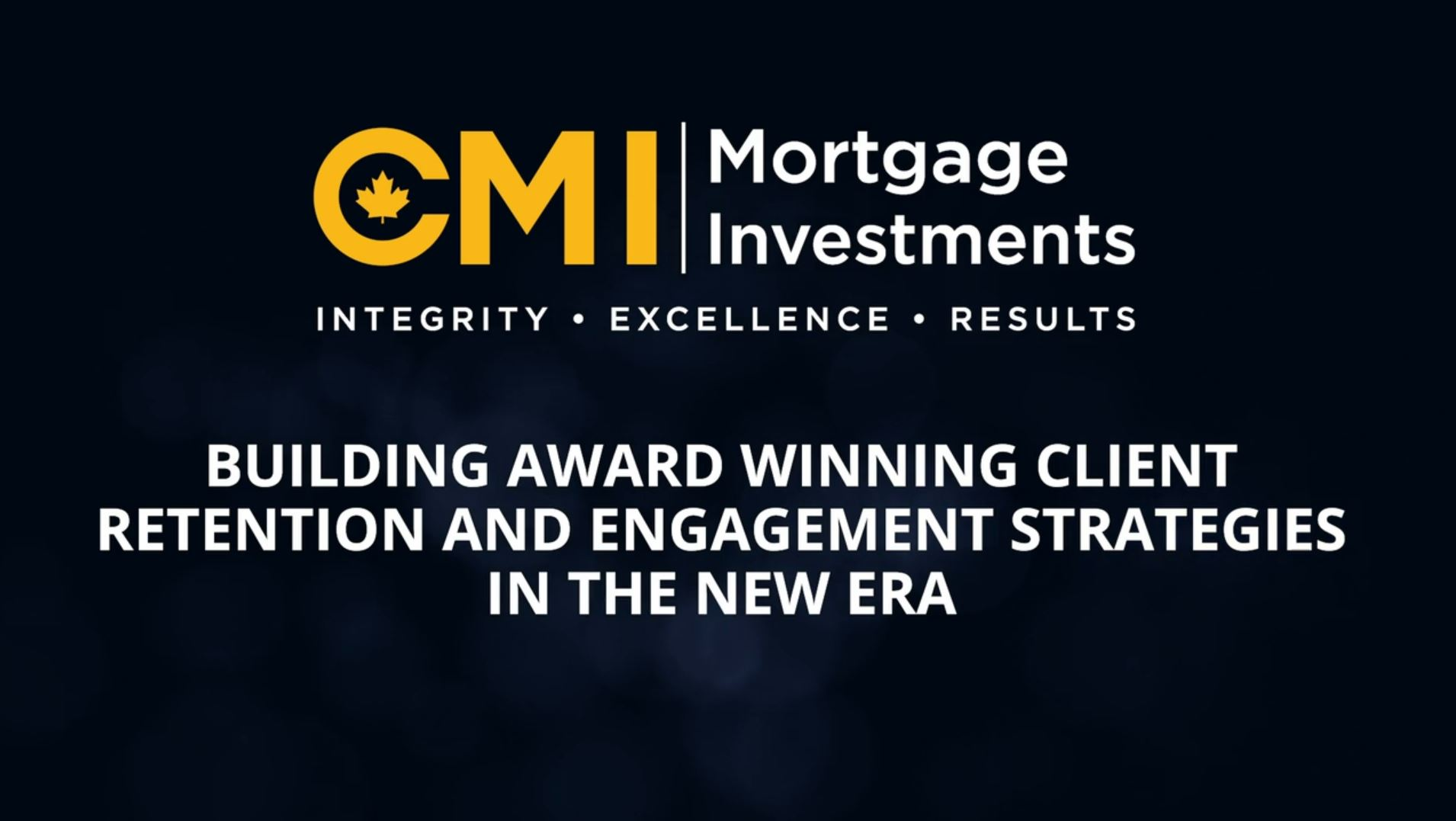 Building award winning client retention and engagement strategies in the new era