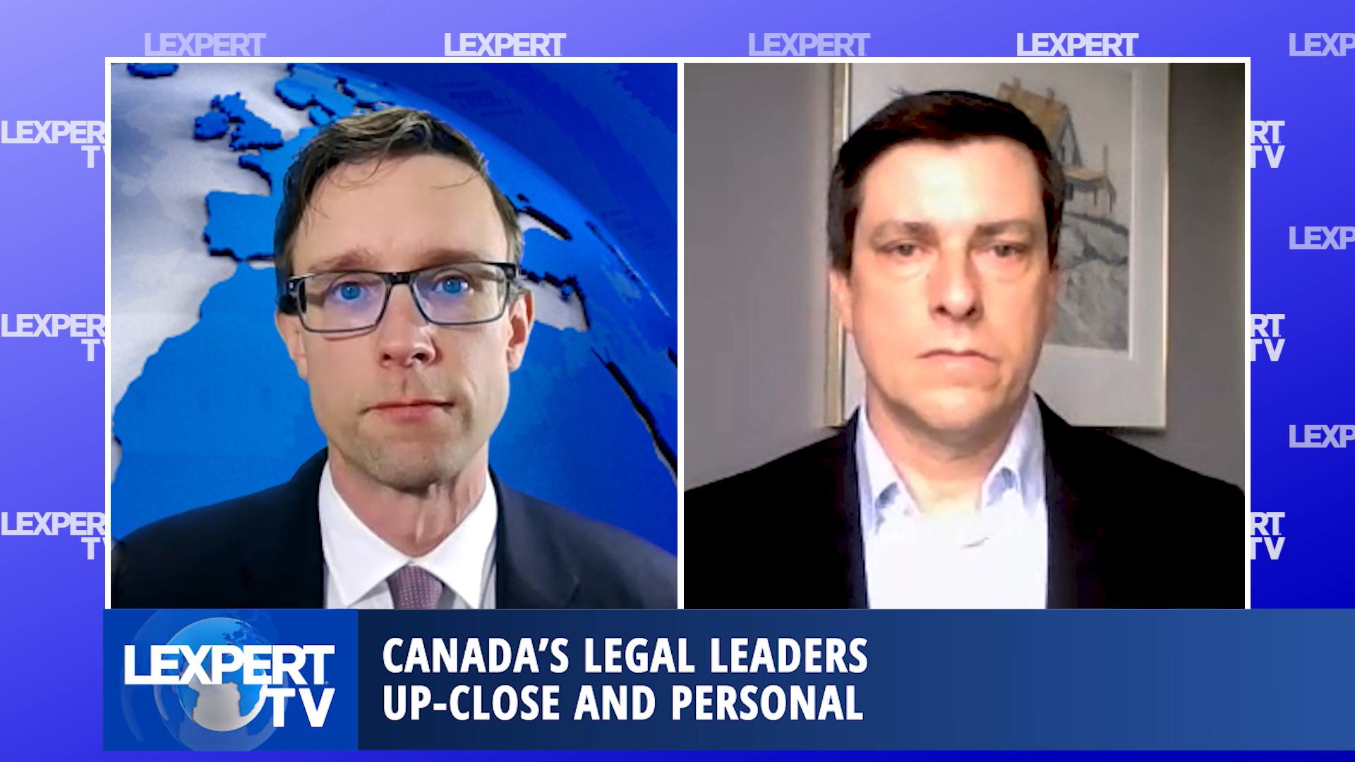 Lexpert TV - Graham Porter, Managing Partner, Chair, Lerners LLP