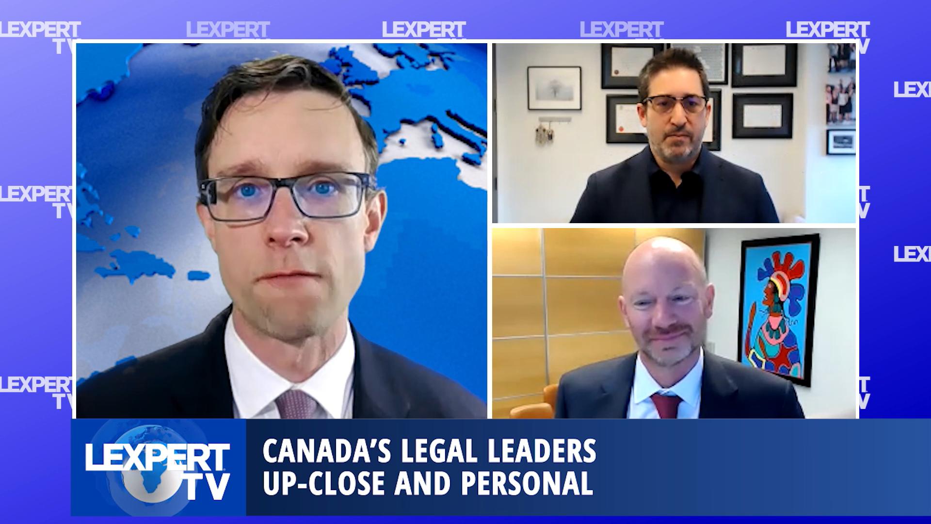 Lexpert TV - Greg Neinstein, Managing Partner and Duncan Embury, Lead Medical Malpractice Lawyer, Neinstein Personal Injury Lawyers