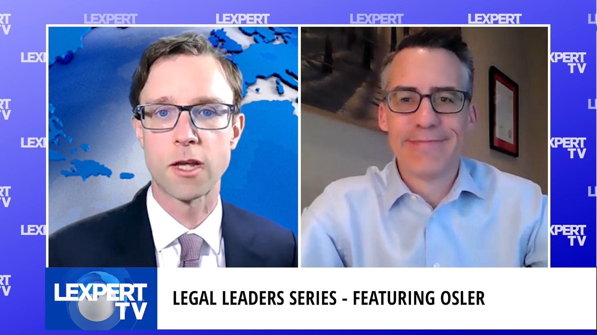 Legal Leaders Series – Brian Thiessen, Calgary Managing Partner, Osler