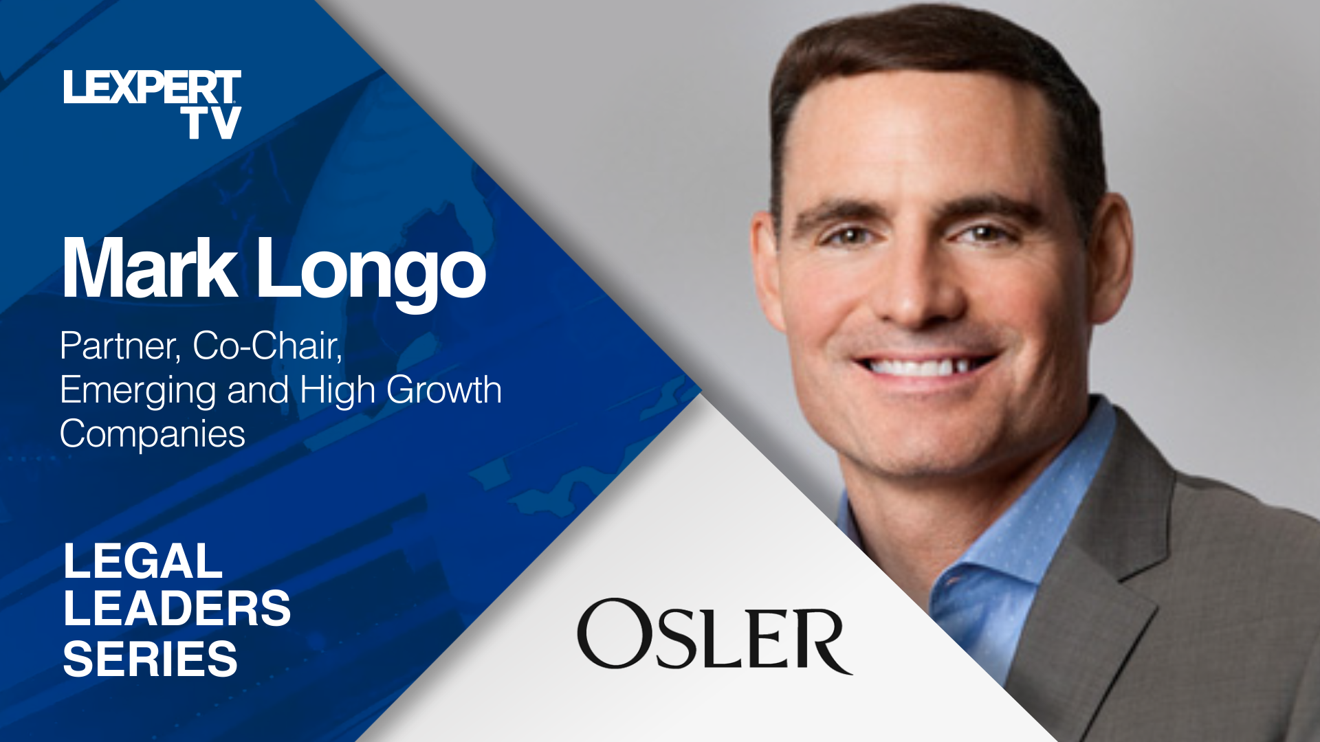 Mark Longo on Osler's growth in Vancouver
