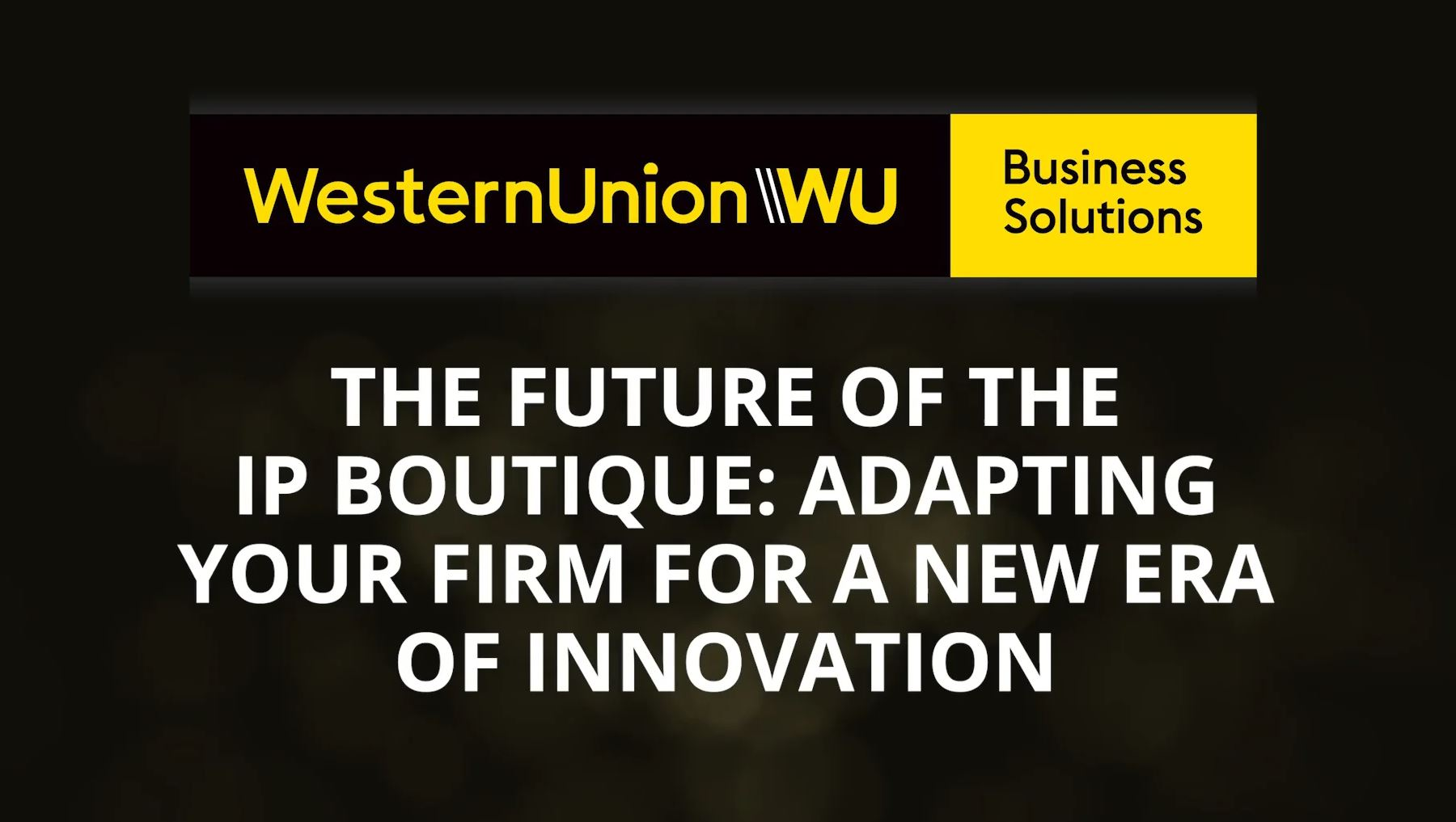 The future of the IP boutique: Adapting your firm for a new era of innovation