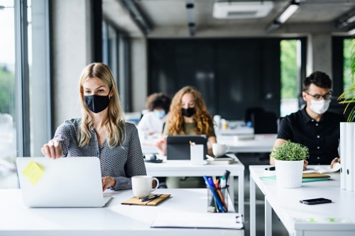 This industry is outpacing others in returning to the office