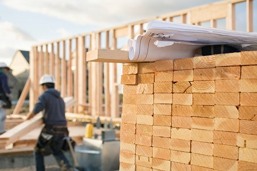 Lumber price hike eases, relieving some pressure on homebuilders