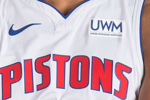 United Wholesale Mortgage named new jersey sponsor of Detroit Pistons