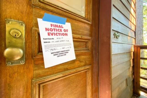 Enough is enough: coalition calls for expiration of eviction moratorium
