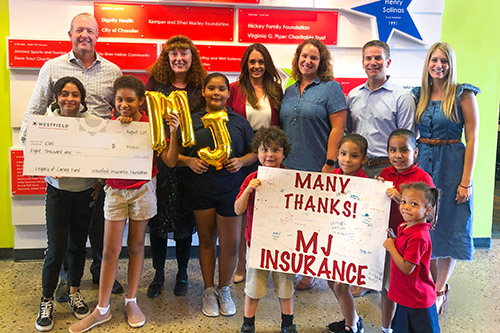 MJ Insurance chooses non-profit to receive grant worth thousands of dollars