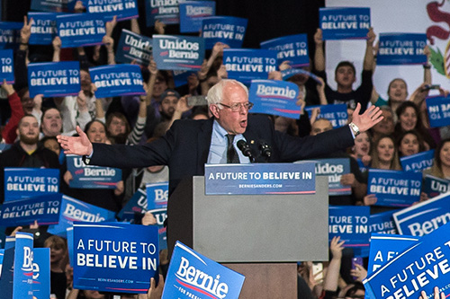 Bernie Sanders' surge in the polls hits health insurers