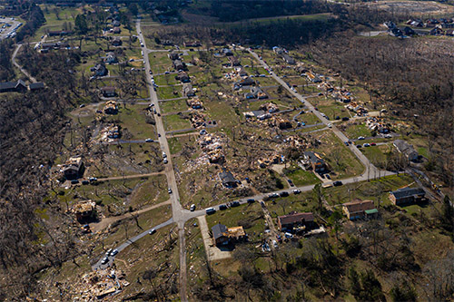 Mid-April tornado damage imagery now available to insurers