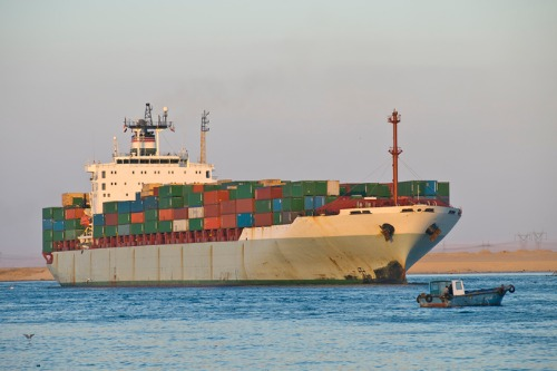 Grounded ship halts trade through Suez Canal