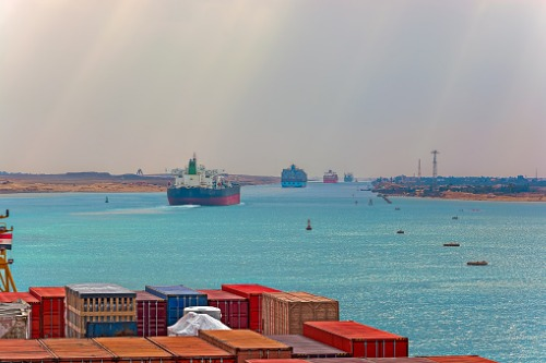Expect lingering effects from Suez blockage - report