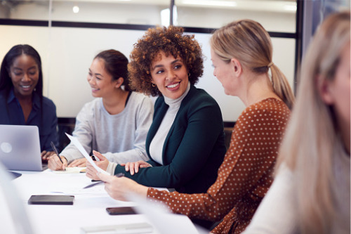 Breaking the glass ceiling in a dynamic industry