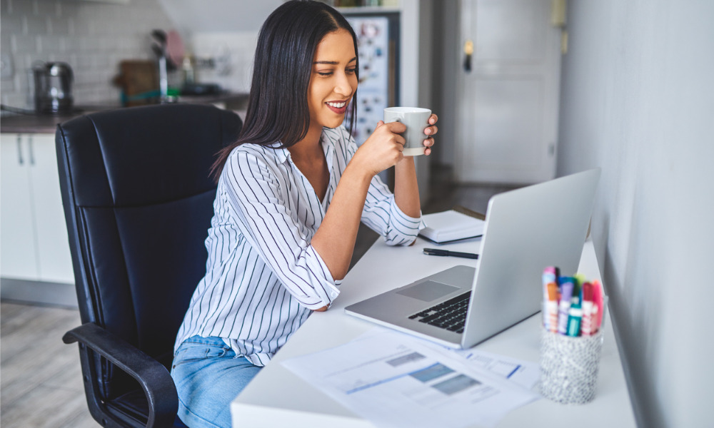 How to work from home: Tips on staying healthy and productive