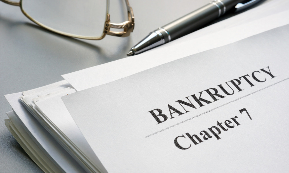 US bankruptcy advisers are frantically busy, just not in court, yet