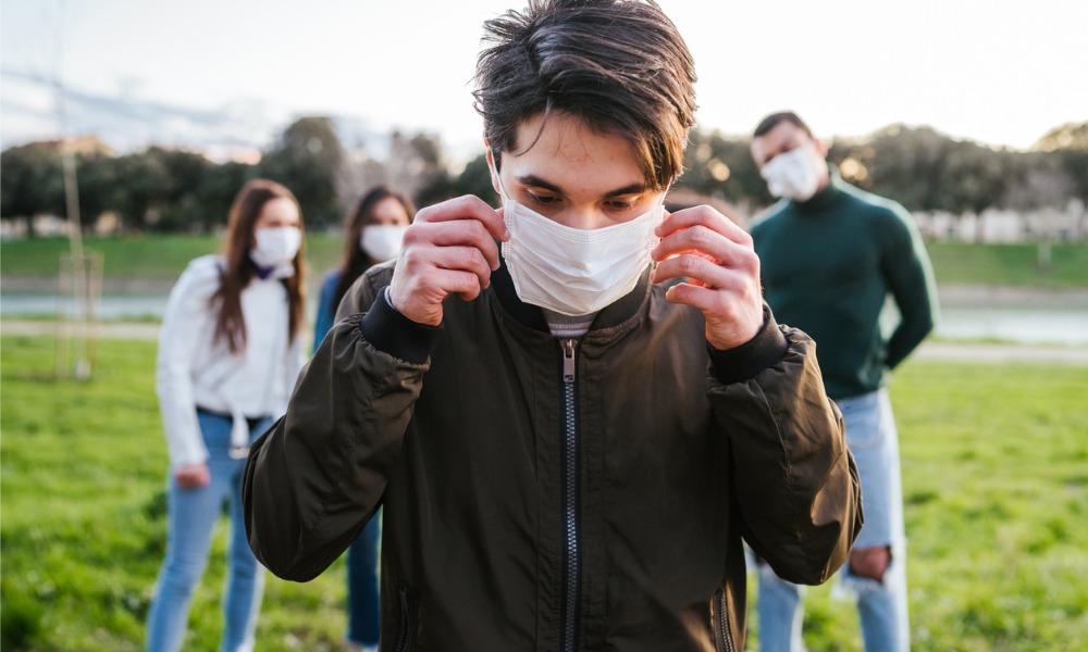 Gen Z is bearing the brunt of the virus