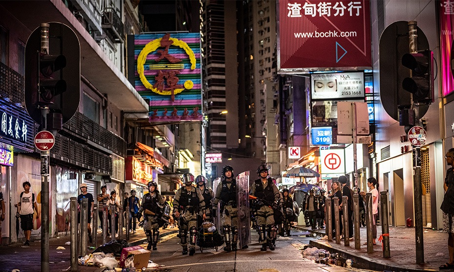 HK crisis: Politics keep offices tense and fear-filled