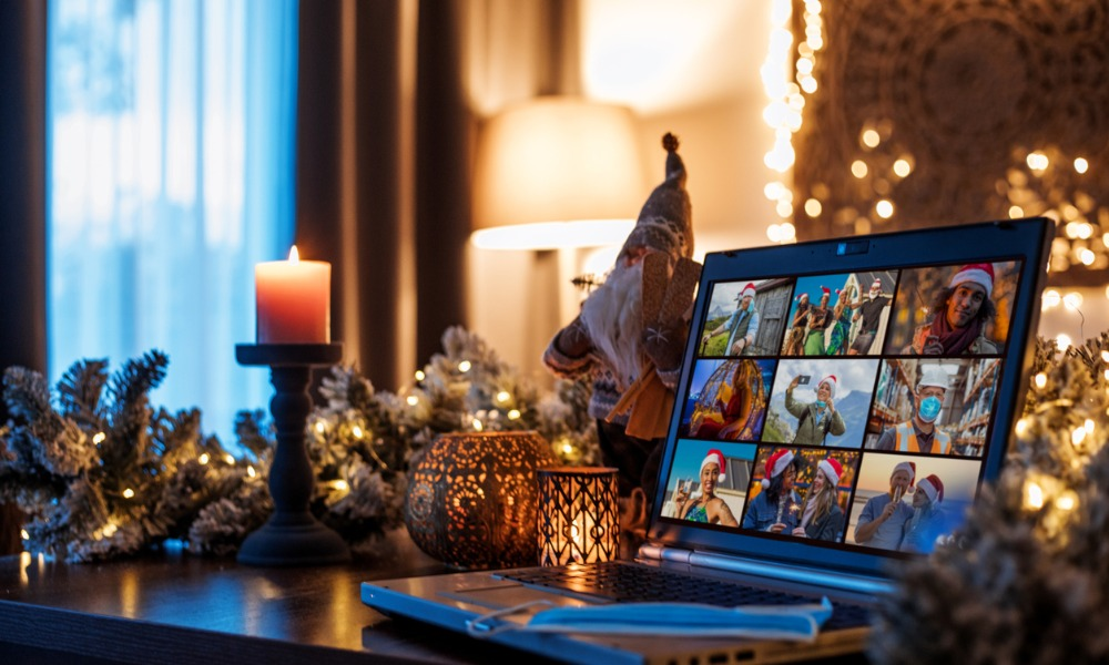 Celebrities, Santa and Zoom part of office holiday parties being held amid COVID 19
