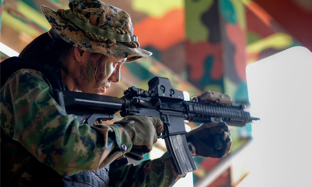 Military reports minimal progress in drive to add more women to the ranks