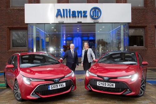 Allianz secures deal with Toyota and Lexus