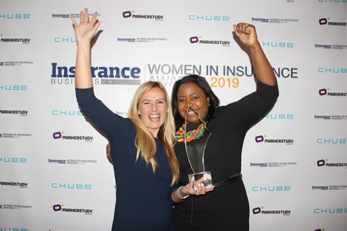 Women in Insurance award winners celebrate in style