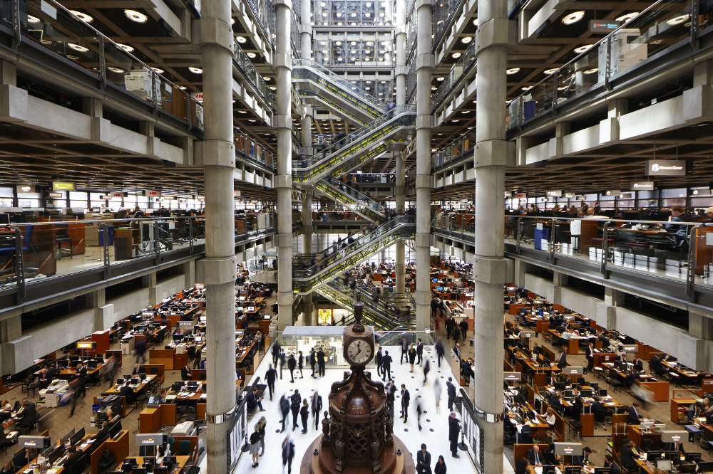 Lloyd's of London seeks ideas for 're-imagined' underwriting room
