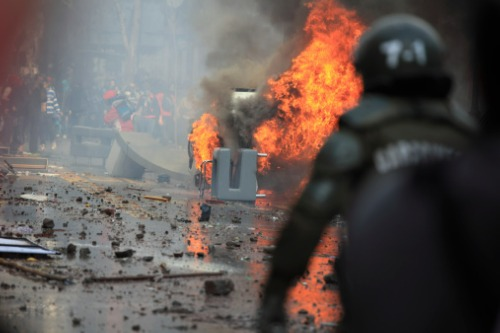 Chubb issues report on civil unrest risk