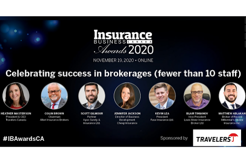 Celebrating success in brokerages (fewer than 10 staff)