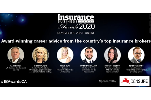 Award-winning career advice from the country's top insurance brokers