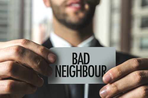 What to do when tensions between neighbours escalate