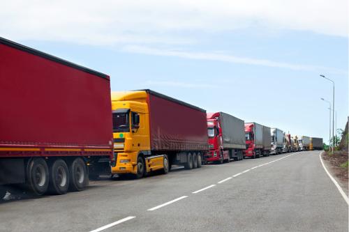 Canadian truckers crossing US border unable to get coronavirus coverage