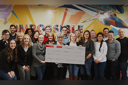 Gore Mutual participates in GivingTuesday, donates to charities
